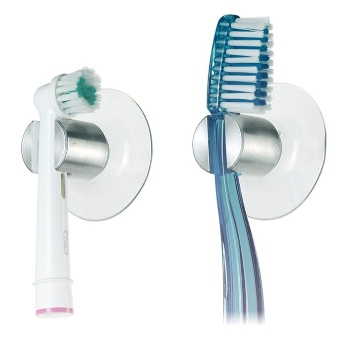Le porte brosse dents ventouse - Porte brosse a dents ...