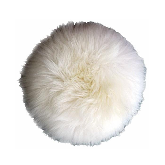 housse de tabouret pure peau de mouton top moumoute de fab. Black Bedroom Furniture Sets. Home Design Ideas