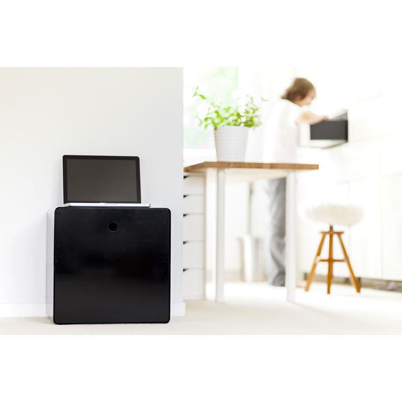 Caisson cube pour cacher les fils small elephant charge - Comment cacher fils derriere meuble tv ...