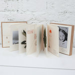 album photos, cahier à dessin, herbier Portfolio de piKs Design