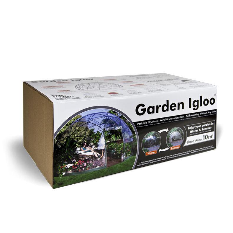 abris de jardin garden igloo hiver