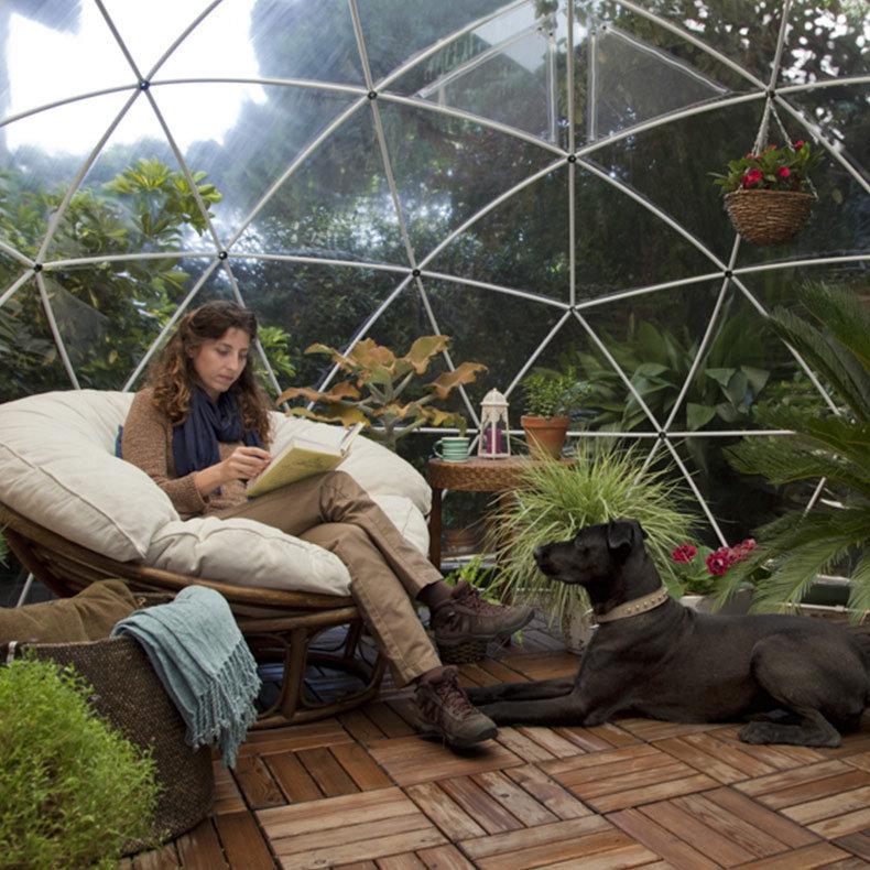 jardin d\'hiver, auvent d\'été, serre géodésique Garden Igloo ...