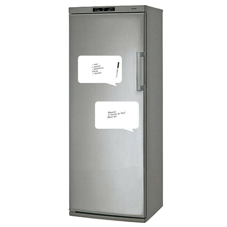 M mo bulle magn tique a4 pour frigo de funny doors - Tableau aimante pour frigo ...
