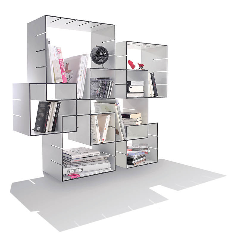 Tag res modulables konnex design florian gross - Etageres cubes modulables ...