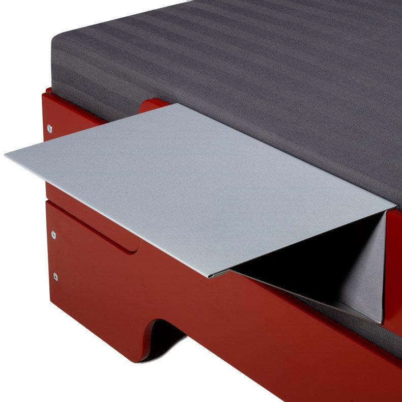 Accessoires pour lits empilables barri re de s curit tablette attaches - Tablette pour lit mezzanine fly ...