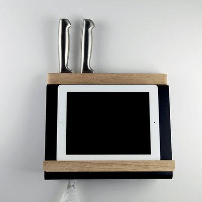 support de tablette de cuisine et porte-couteaux tablio - müller