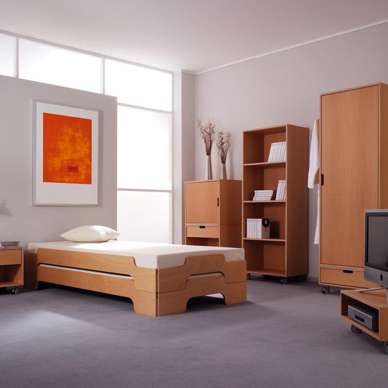 lit empilable m ller m bel finition h tre design rolf heide. Black Bedroom Furniture Sets. Home Design Ideas