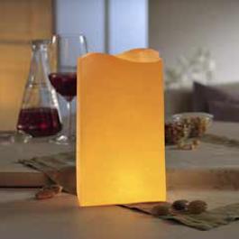 grande lanterne en papier pour bougie et photophore d corer. Black Bedroom Furniture Sets. Home Design Ideas