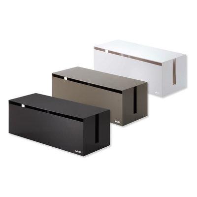 boites c bles et prises multiples web cable box yamazaki. Black Bedroom Furniture Sets. Home Design Ideas