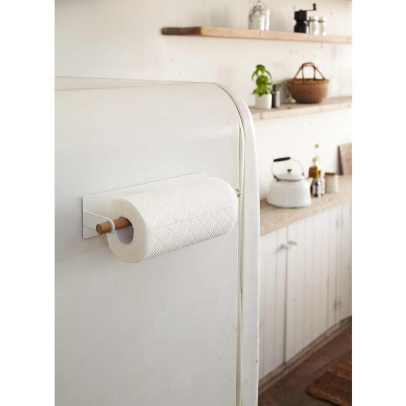 porte rouleau magn tique pour essuie tout tosca yamazaki. Black Bedroom Furniture Sets. Home Design Ideas