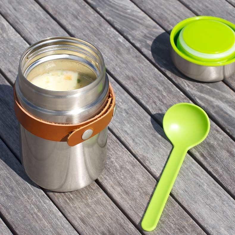 gamelle pot inox thermos food flask de black and blum. Black Bedroom Furniture Sets. Home Design Ideas