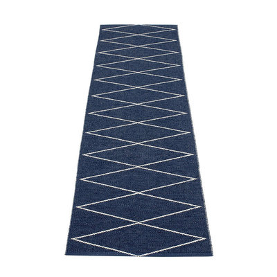 max tapis long tapis de couloir pappelina dark blue. Black Bedroom Furniture Sets. Home Design Ideas
