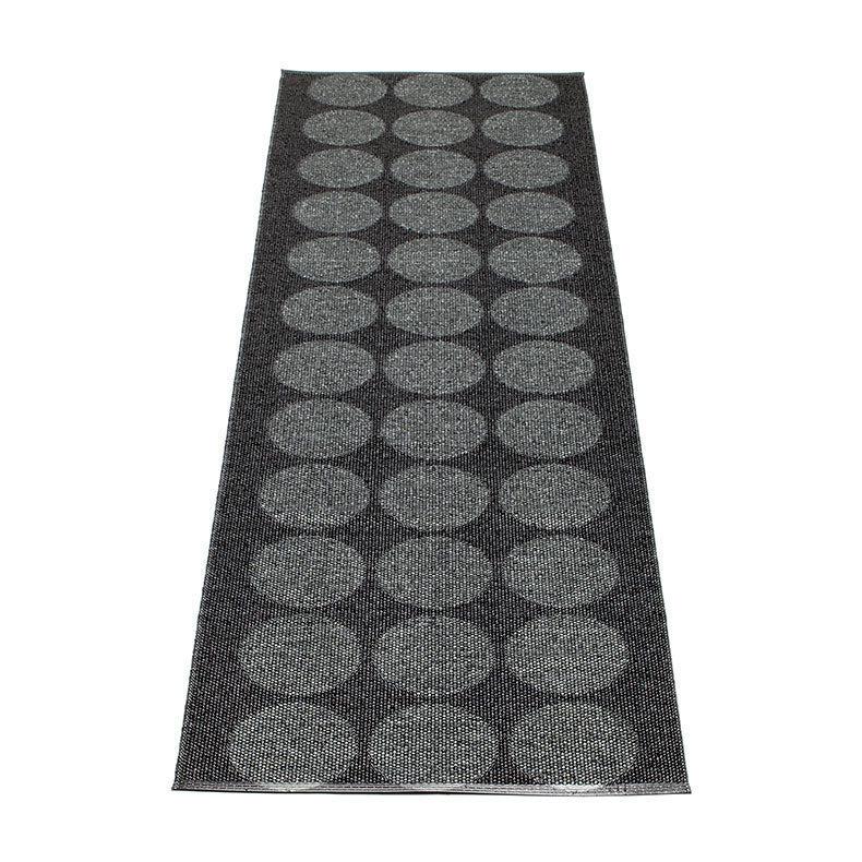 hugo tapis long tapis de couloir pappelina black metallic. Black Bedroom Furniture Sets. Home Design Ideas