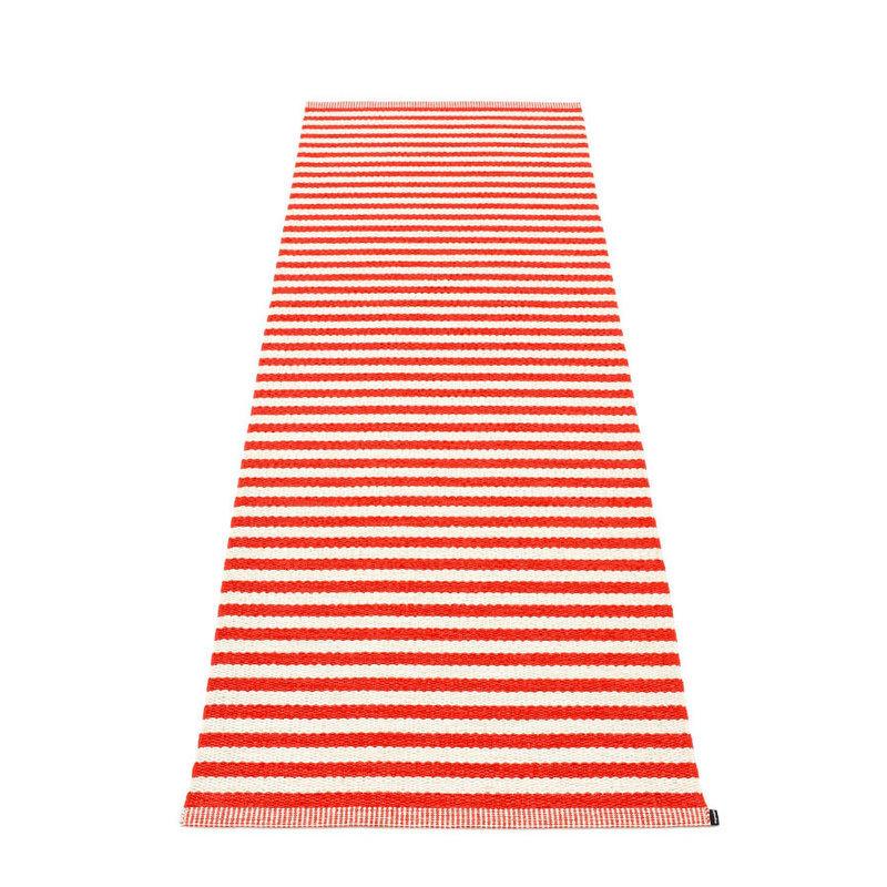 duo tapis long tapis de couloir largeur 85cm pappelina coral red. Black Bedroom Furniture Sets. Home Design Ideas