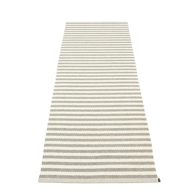 duo tapis long tapis de couloir largeur 85cm pappelina warm grey. Black Bedroom Furniture Sets. Home Design Ideas