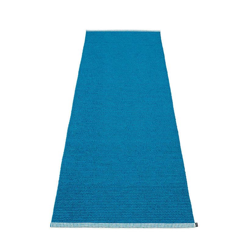 mono tapis long tapis de couloir largeur 85cm pappelina petrol. Black Bedroom Furniture Sets. Home Design Ideas