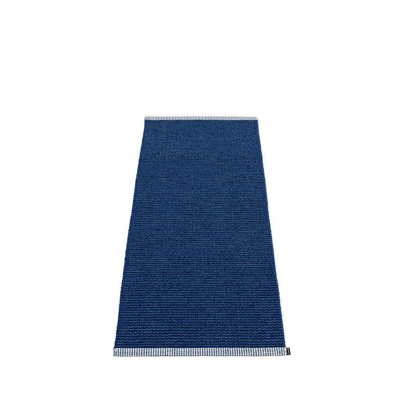 mono tapis long tapis de couloir largeur 60cm pappelina dark blue. Black Bedroom Furniture Sets. Home Design Ideas