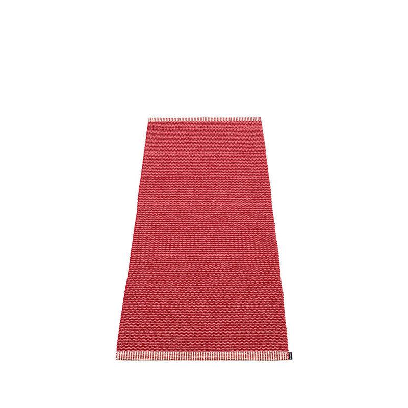 Mono tapis long tapis de couloir largeur 60cm pappelina for Tapis pour long couloir
