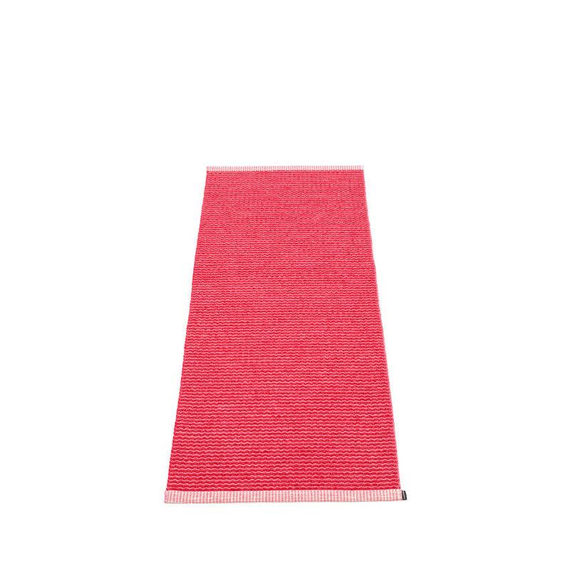 mono tapis long tapis de couloir largeur 60cm pappelina cherry. Black Bedroom Furniture Sets. Home Design Ideas