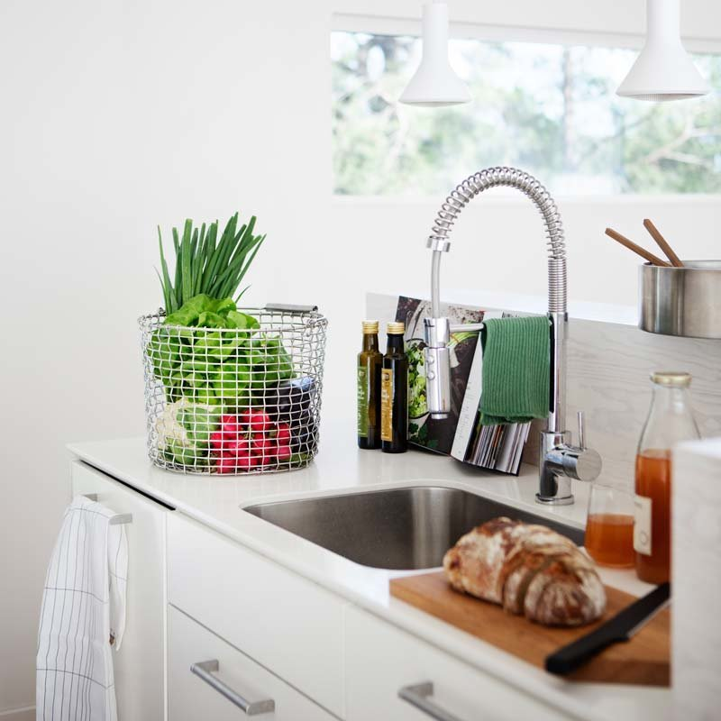 seaux tress s en acier inox bucket inox korbo. Black Bedroom Furniture Sets. Home Design Ideas
