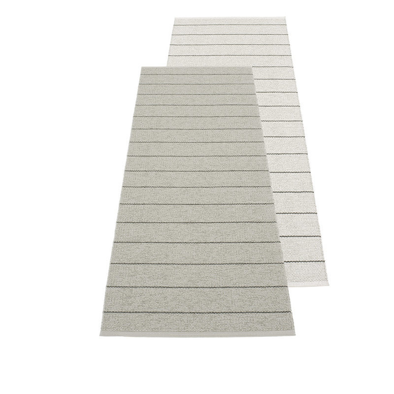 carl tapis long tapis de couloir pappelina warm grey fossil grey. Black Bedroom Furniture Sets. Home Design Ideas