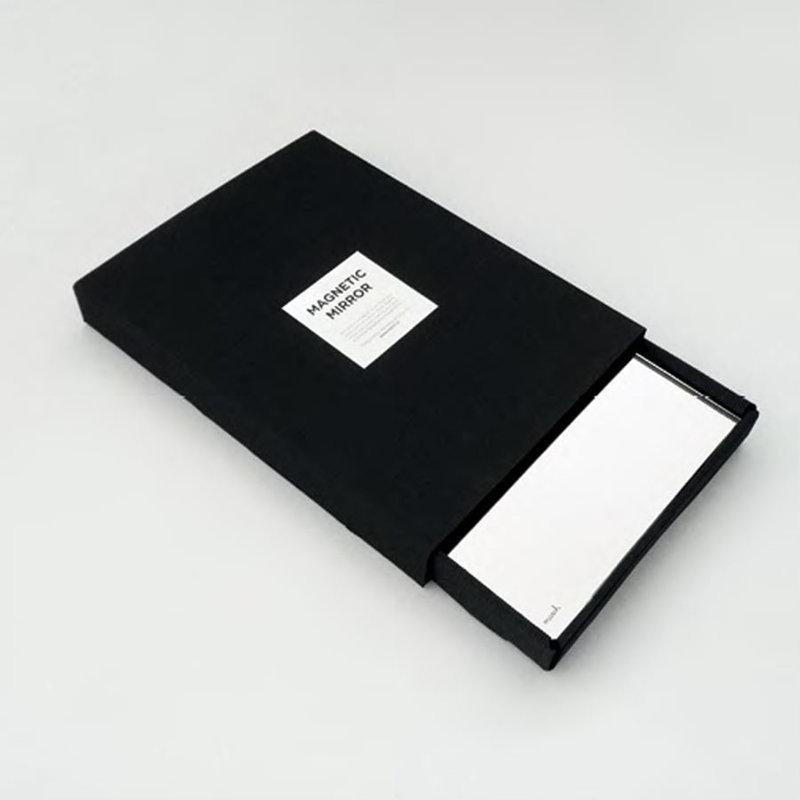 miroir panneau cl magn tique magnetic mirror march. Black Bedroom Furniture Sets. Home Design Ideas