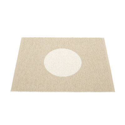 VERA SMALL ONE - petit tapis Pappelina - BEIGE