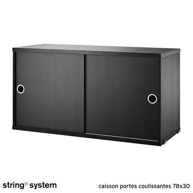 String system caisson portes coulissantes 78x30 fr ne - Caisson porte coulissante ...