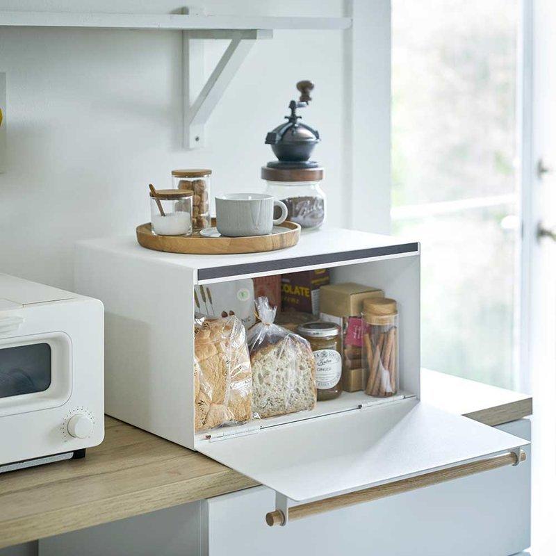 grande boite de rangement à pain Tosca - Yamazaki - BLANC - LAPADD.com
