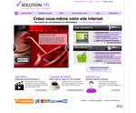 Page d'accueil de Solution TPE