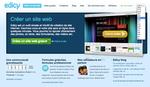 Page d'accueil du site Edicy