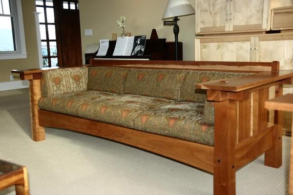 Voorhees Craftsman Mission Oak Furniture - Large Limbert Replica ...