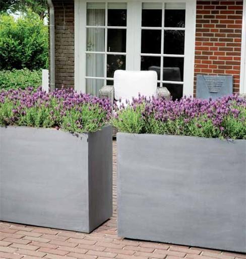 Jardiniere Bois Haute : jardini?re haute polystone noire 95 cm 437 00 ttc jardini?re haute