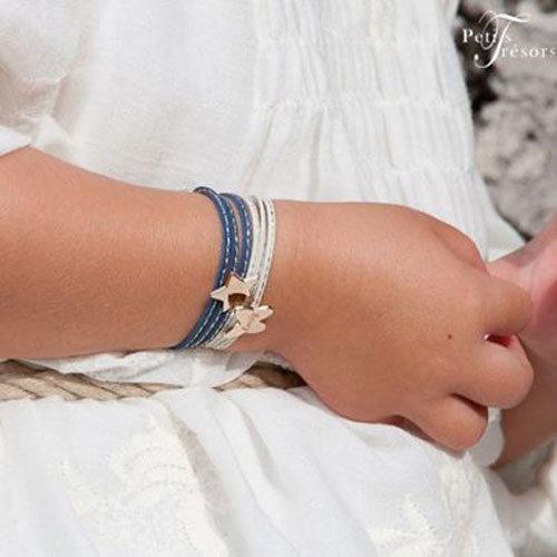 Bracelet en argent pour petite fille