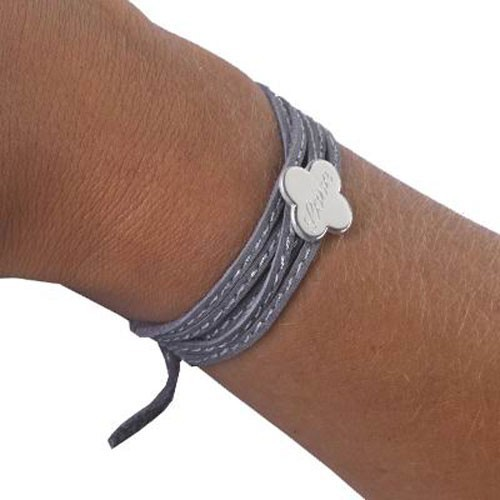 bracelet fantaisie amazone femme enfant cuir tr fle ou m daille argent ou plaqu or petits. Black Bedroom Furniture Sets. Home Design Ideas