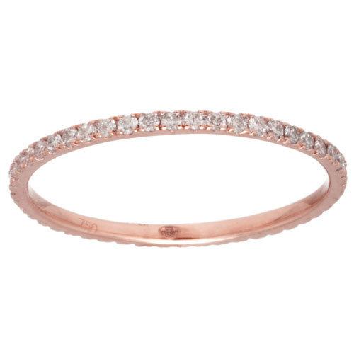 Souvent Bague Anneau Promesse Or et diamants - Vanessa Tugendhaft - 895  GI04