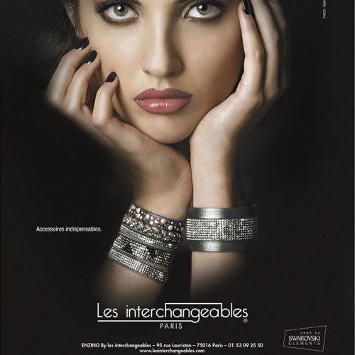 Les interchangeables , Magazine Elle , décembre 2012 pour Comptoir des  Filles