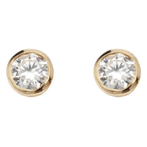 boucles d oreilles puces identity femmes or et diamants vanessa tugendhaft 1 570 eur. Black Bedroom Furniture Sets. Home Design Ideas
