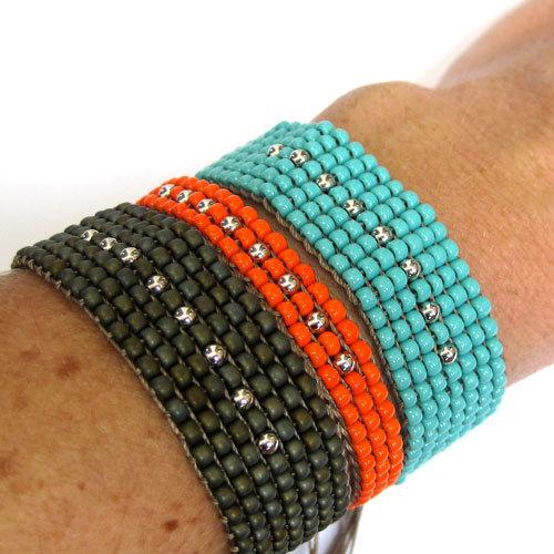 bracelet toho femmes hommes ados perles l by l avare. Black Bedroom Furniture Sets. Home Design Ideas