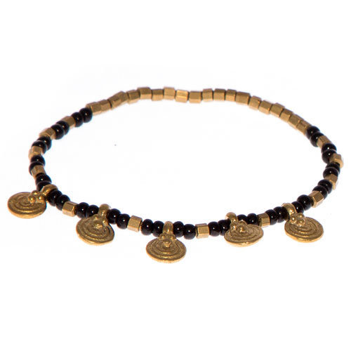 bracelet homme perle luxe bracelet homme noir perle plate. Black Bedroom Furniture Sets. Home Design Ideas