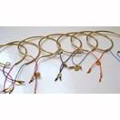 Bracelets Joncs Tubes en vermeil ou argent avec un petit lien de fermeture par L by L'avare pour Comptoir des Filles
