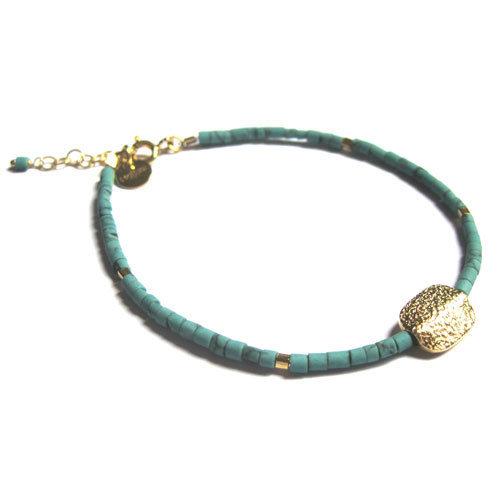 bracelet milly en vermeil et perles 5 octobre 105 eur. Black Bedroom Furniture Sets. Home Design Ideas