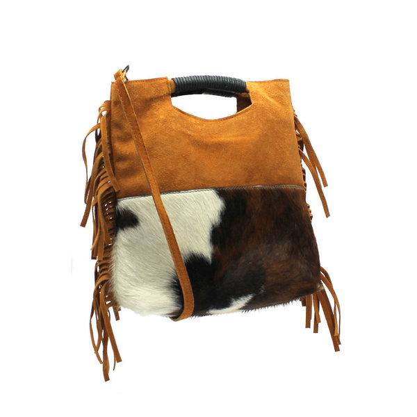 4315977494 ... sac franges cuir camel-poulain - CpourL ...