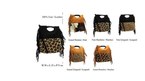 a9e2159964 ... sac franges cuir poil animal - CpourL
