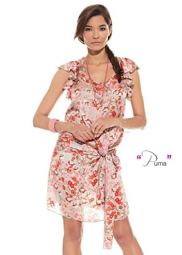 show girls robe fleur puma cpourl. Black Bedroom Furniture Sets. Home Design Ideas