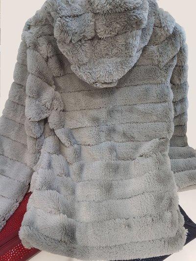 super populaire 6c5da 7cdf6 veste capuche fausse fourrure - CpourL