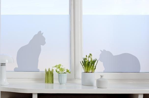 Decorative vitrostatic window screen film lapadd - Stickers pour fenetre cuisine ...