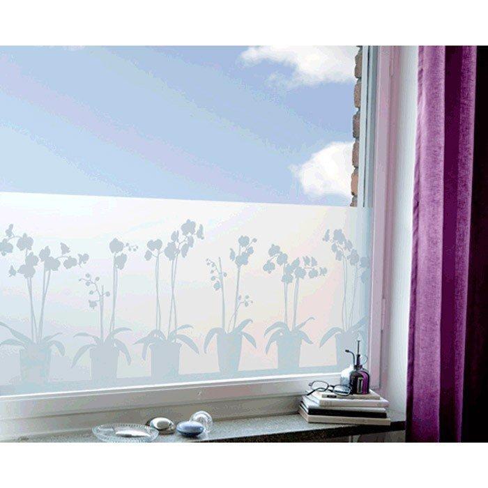 decorative vitrostatic window screen film lapadd. Black Bedroom Furniture Sets. Home Design Ideas