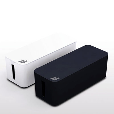 bluelounge cable box for chargers and cables lapadd. Black Bedroom Furniture Sets. Home Design Ideas