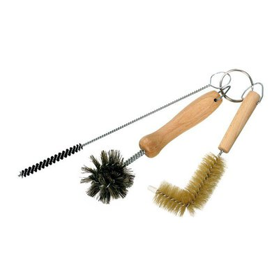 Set Of 3 Bottle Brushes For Sink, Bath And Shower Plugholes